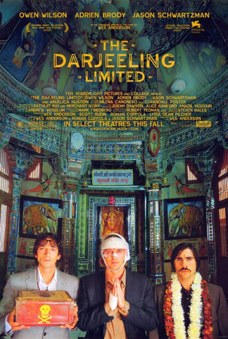 The Darjeeling Limited 27x40 Movie Poster (2007)
