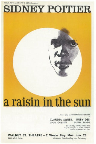 A Raisin In The Sun 11x17 Broadway Show Poster (1959)