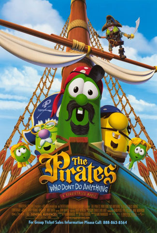 The Pirates Who Don't Do Anything: A Veggie Tales Movie 11x17 Movie Poster (2008)