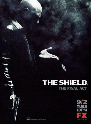 The Shield 11x17 TV Poster (2002)