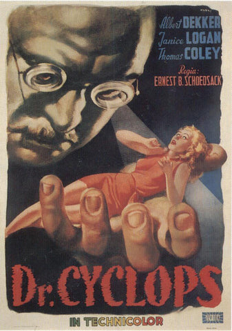 Doctor Cyclops (Italian) 11x17 Movie Poster (1940)