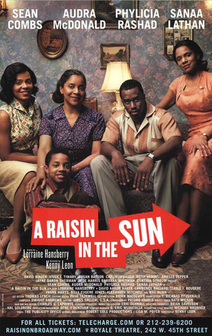 A Raisin In The Sun 27x40 Broadway Show Poster
