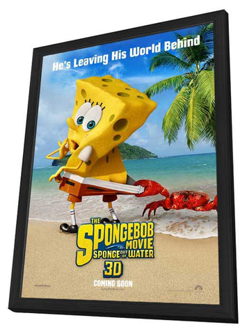 The SpongeBob Movie: Sponge Out of Water 11x17 Framed Movie Poster (2015)