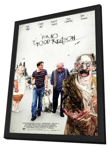 For No Good Reason 11x17 Framed Movie Poster (2014)