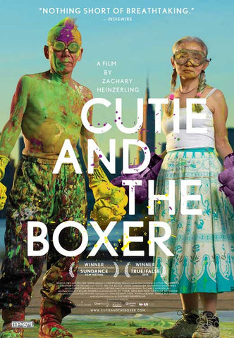 Cutie and the Boxer (Canadian) 11x17 Movie Poster (2013)