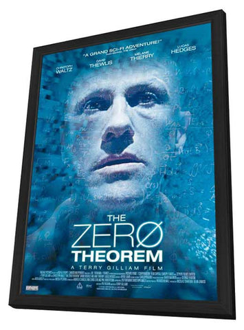 The Zero Theorem (Canadian) 27x40 Framed Movie Poster (2014)