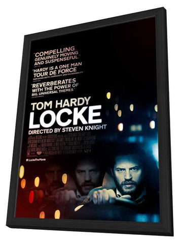 Locke 11x17 Framed Movie Poster (2014)