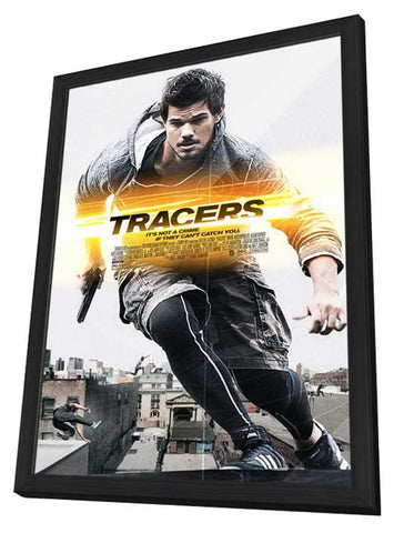 Tracers 11x17 Framed Movie Poster (2015)