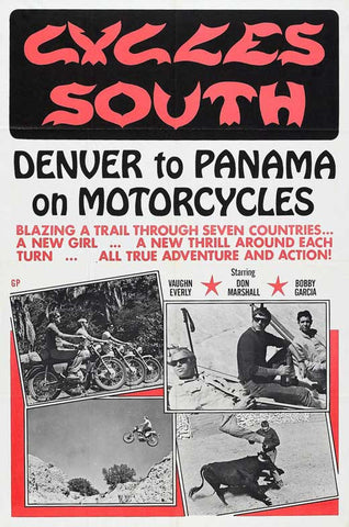 Cycles South 11x17 Movie Poster (1971)