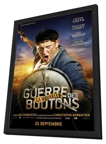 War of the Buttons (French) 11x17 Framed Movie Poster (2012)