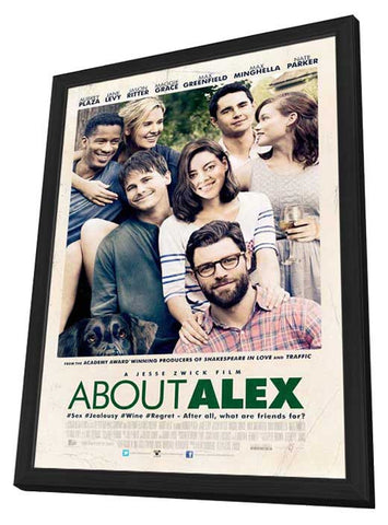 About Alex 27x40 Framed Movie Poster (2014)