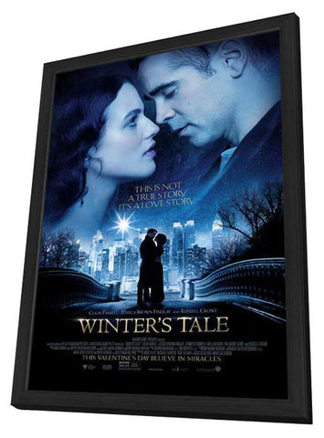 Winter's Tale 11x17 Framed Movie Poster (2014)