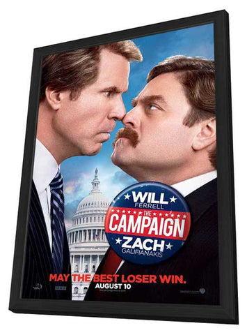 The Campaign 27x40 Framed Movie Poster (2012)