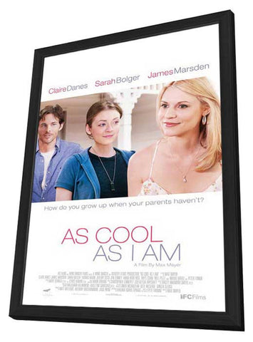 As Cool As I Am 27x40 Framed Movie Poster (2013)