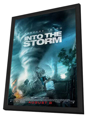 Into the Storm 11x17 Framed Movie Poster (2014)