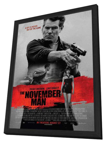The November Man 11x17 Framed Movie Poster (2014)