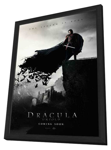 Dracula Untold 11x17 Framed Movie Poster (2014)