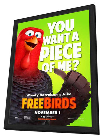 Free Birds 27x40 Framed Movie Poster (2013)