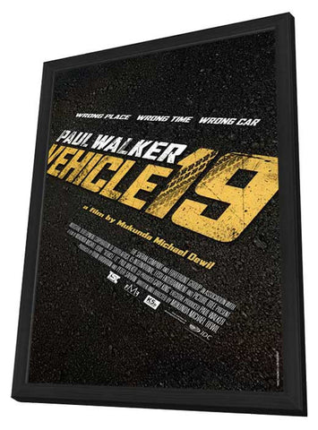 Vehicle 19 27x40 Framed Movie Poster (2012)