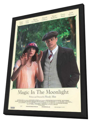 Magic in the Moonlight (Canadian) 27x40 Framed Movie Poster (2014)