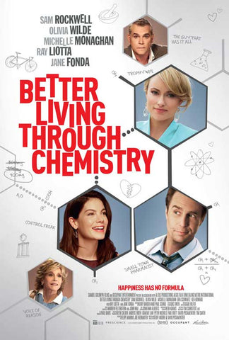 Better Living Through Chemistry 11x17 Movie Poster (2014)