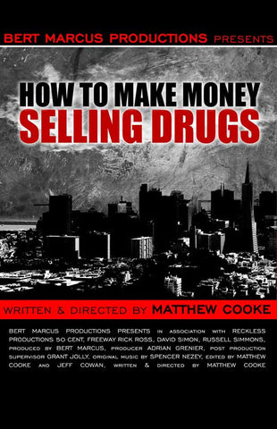 How to Make Money Selling Drugs 27x40 Movie Poster (2013)