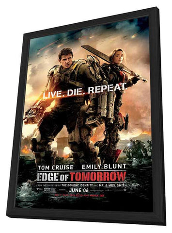 Edge of Tomorrow 11x17 Framed Movie Poster (2014)
