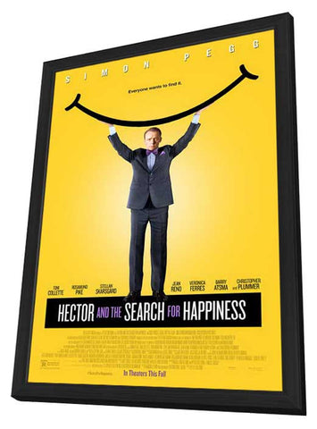 Hector and the Search for Happiness 11x17 Framed Movie Poster (2014)
