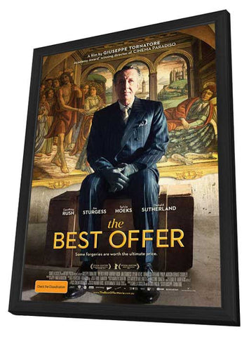 The Best Offer (Australian) 27x40 Framed Movie Poster (2014)