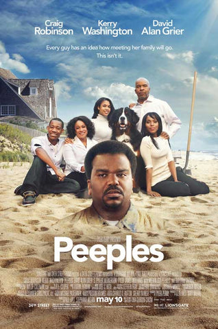 Tyler Perry Presents Peeples 27x40 Movie Poster (2013)