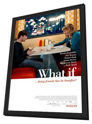 What If 27x40 Framed Movie Poster (2014)