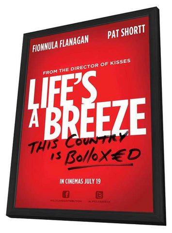Life's a Breeze 11x17 Framed Movie Poster (2014)