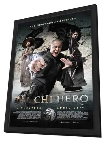 Tai Chi Hero 11x17 Framed Movie Poster (2013)