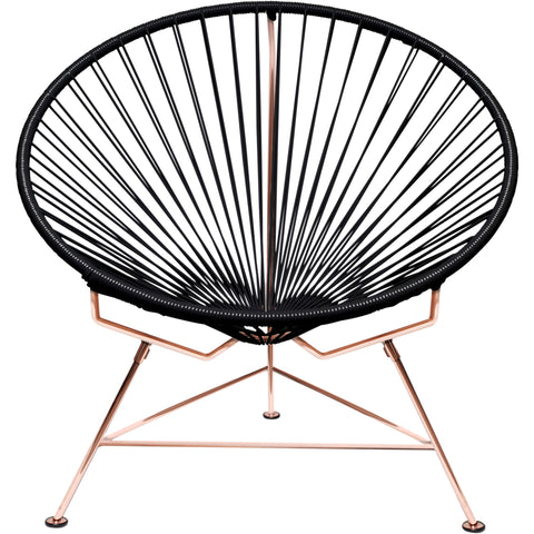 Innit Vinyl Cord Chair, Copper Frame