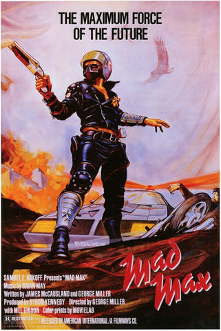 Mad Max 2: The Road Warrior 27x40 Movie Poster (1982)