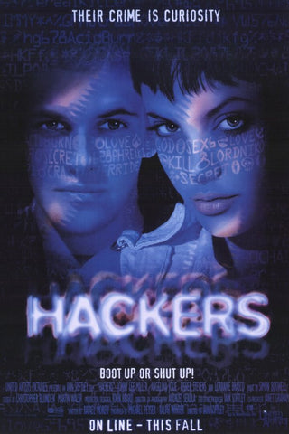 Hackers 11x17 Movie Poster (1995)