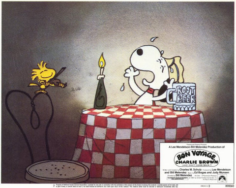 Bon Voyage Charlie Brown 11x14 Movie Poster (1980)