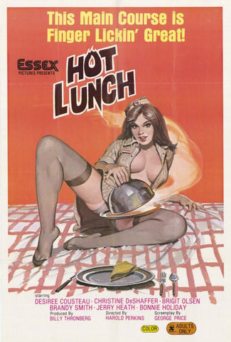 Hot Lunch 11x17 Movie Poster (1982)