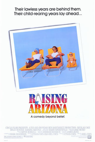 Raising Arizona 27x40 Movie Poster (1987)
