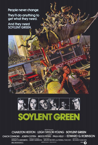 Soylent Green 27x40 Movie Poster (1973)