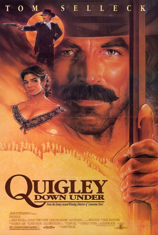 Quigley Down Under 27x40 Movie Poster (1990)