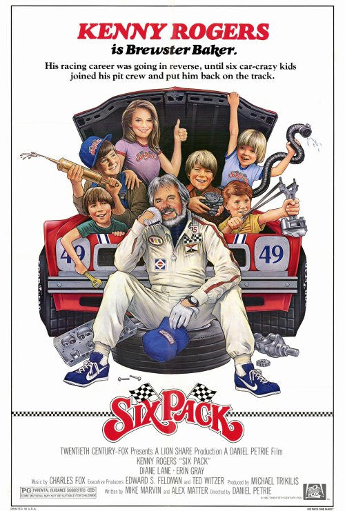 Six Pack 27x40 Movie Poster (1982)