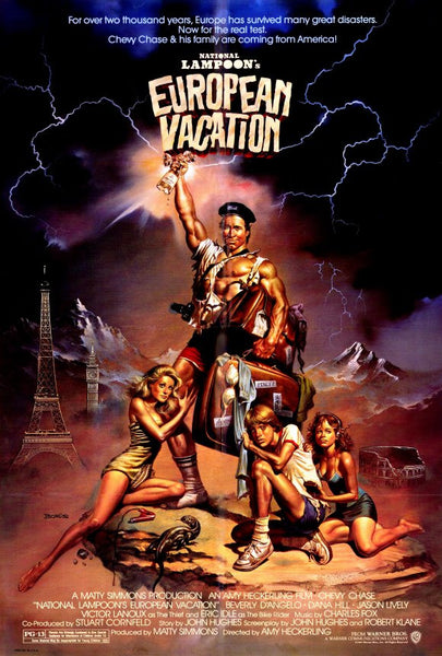 National Lampoon's European Vacation 27x40 Movie Poster