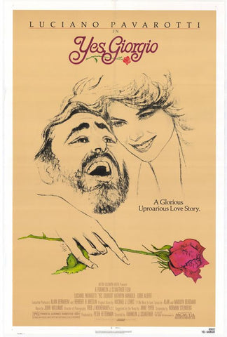 Yes Giorgio 27x40 Movie Poster (1982)
