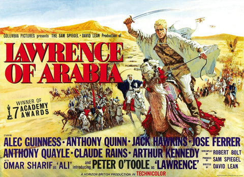 Lawrence of Arabia (UK) 30x40 Movie Poster (1963)