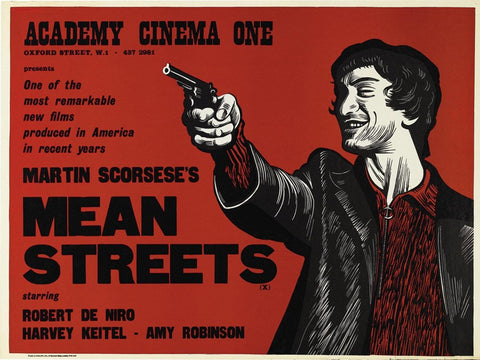 Mean Streets (UK) 30x40 Movie Poster (1973)