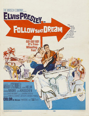 Follow That Dream 27x40 Movie Poster (1962)