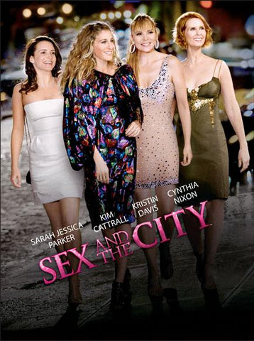 Sex and The City: The Movie (Danish) 27x40 Movie Poster (2008)