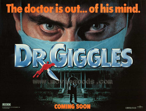 Dr. Giggles 11x17 Movie Poster (1992)