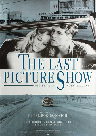 The Last Picture Show (German) 11x17 Movie Poster (1971)